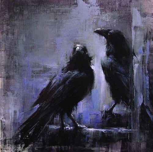 raven-art-crow-art